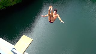 Extreme Cliffdiving | Bridge Jump | Centovalli