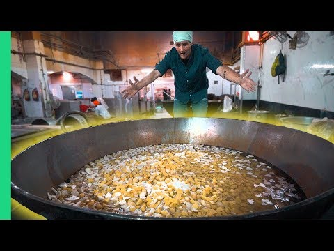 INDIAN FOOD Touched by GOD! How to Cook for 10,000 People in Delhi's Biggest Sikh Temple!