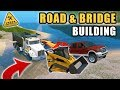 BRIDGE CONSTRUCTION ACROSS PART OF THE LAKE! W/ CAT 289 | FARMING SIMULATOR 2017