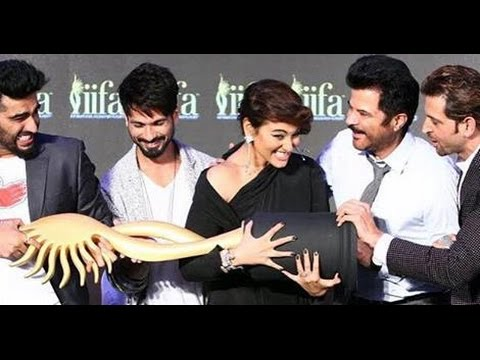 IIFA Awards 2015 - Press Confrence With Sonakshi, Arjun, Hritik, Shahid, Anil Kapoor !!!