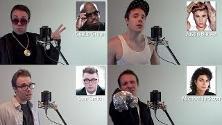 Download Lagu ONE GUY, 22 VOICES (Sam Smith, Michael Jackson, Bruno Mars, iFunny Famous Singer Impressions) Gratis STAFABAND