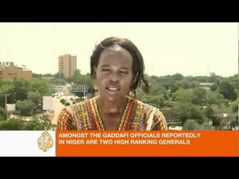 AJE Yvonne Ndege reports on Gaddafi forces in Niger