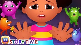 Chiku Learns To Wash Her Hands - ChuChuTV Storytime Good Habits Bedtime Stories for Kids