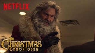 The Christmas Chronicles | Micky Mantle Rookie Card | Netflix