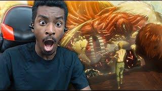 BEAST TITAN VS ARMORED TITAN! Attack on Titan Season 3 LIVE REACTION! Episode 10