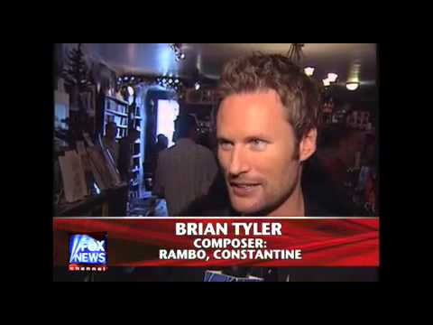 Brian Tyler Interviewed By Fox News At Varese Sarabande Celebration
