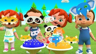 Learn Animals Names for Children - Little Babies Fun Play Animals Masks 3D Cartoons for Kids Toys