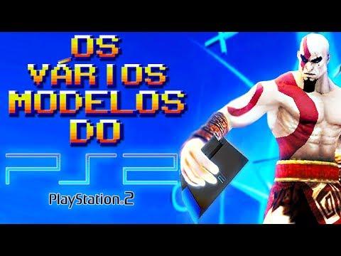 Todos os Modelos do PS2 (Qual o Melhor Playstation 2?) (Curiosidades dos Games / Jogos/ Análise)
