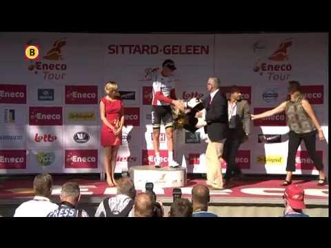 Lars Boom blijft leider in Eneco Tour; Chavanel wint tijdrit in Sittard