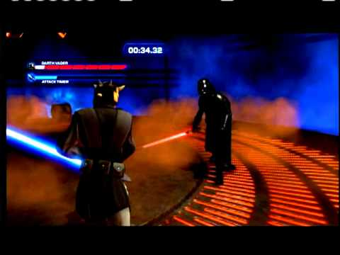 XboX360[Kinect STAR WARS]-DARTH VADER Final Boss Fight in Duels of Fate