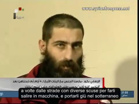 Siria, 4 Ragazze violentate poi sgozzate, Terrorista di al-Qaeda confessa