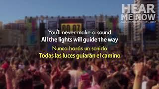 Ouça Alok Bruno Martini Ft Zeeba - Hear Me Now Subtitulada Letra al Español