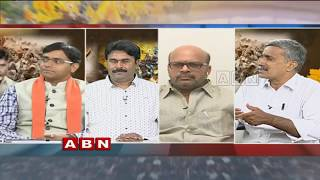 ABN Debate on CM Chandrababu Naidu's one day fast against Centre | Part 2
