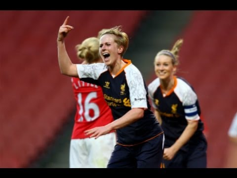 Arsenal vs Liverpool 0-4, FAWSL Goals & Highlights