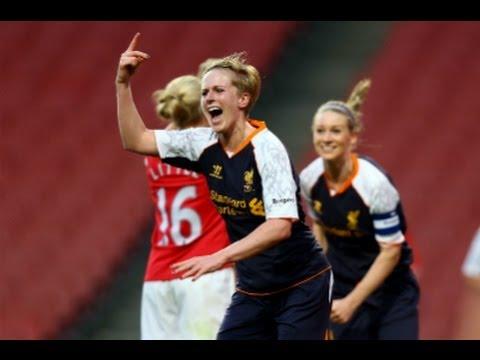 Arsenal vs Liverpool 0-4, FAWSL Goals & Highlights
