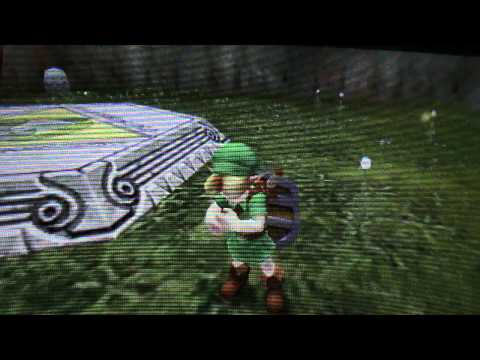 The Legend Of Zelda Ocarina Of Time 3D- Items. Using The Gyroscope. and The Select Screen
