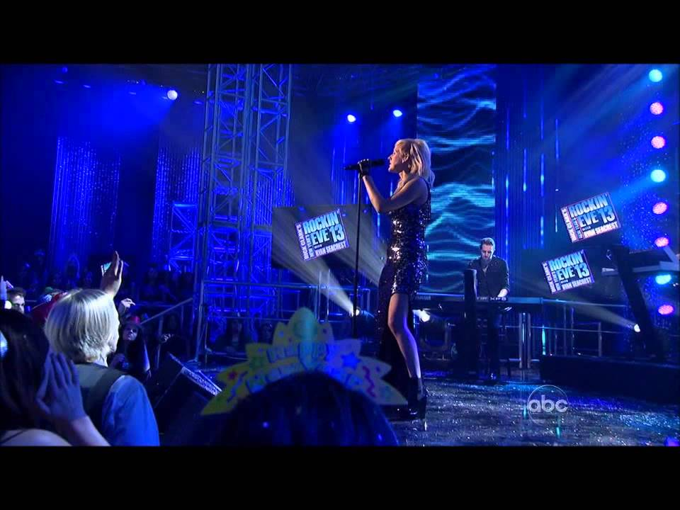 Ellie Goulding - Anything Could Happen - Dick Clark's New Year's Rockin'-2013 HDTV