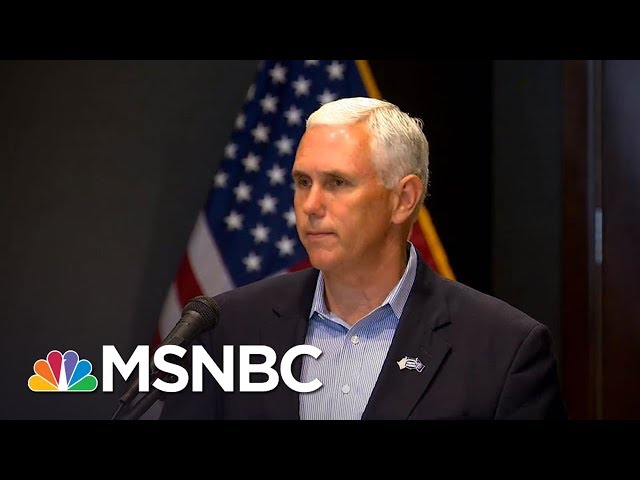 Mike Pence Lawyers Up As Donald Trump Reportedly Obsesses Over Russia Probe  The 11th Hour  MSNBC