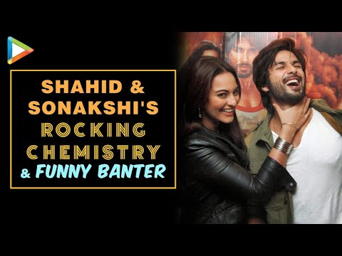 Shahid-sonakshi's Rocking Exclusive Interview On R...rajkumar video