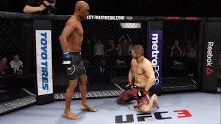 Khabib vs. Anderson Silva (EA Sports UFC 3) - CPU vs. CPU