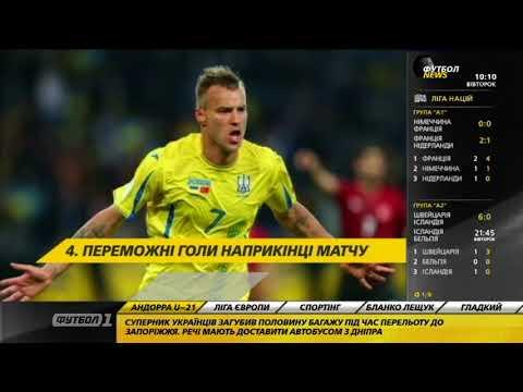 Футбол NEWS от 11.09.2018 (10:00) | Украинская молодежка готовится к матчу против Андорры