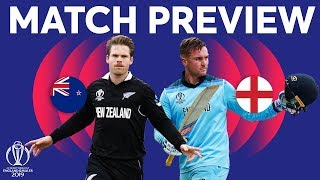 Match Preview - New Zealand v England | ICC Cricket World Cup 2019