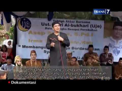 Nasehat pernikahan  Oleh Ustadz Jefri Al Buchori( UJE )