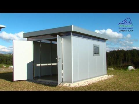 Biohort CasaNova - Design-Nebengebäude Produktvideo