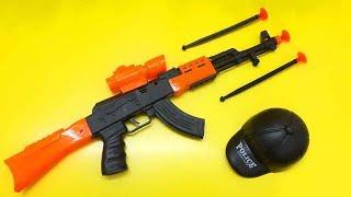 Realistic Toy Gun. AK47 Darts Shooting Gun Toys For KIDS.