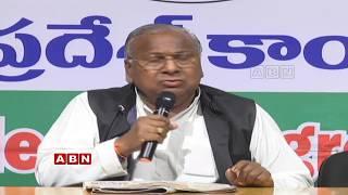 V. Hanumantha Rao - Press Meet from Gandhi Bhavan  - netivaarthalu.com