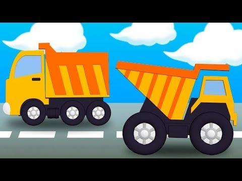 Раскраска про грузовые машины