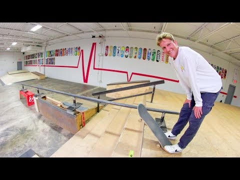 The DEADLIEST Skate Rail Ever! / Warehouse Wednesday!
