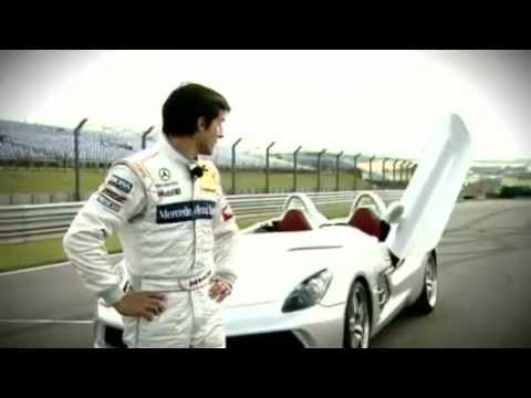 Mercedes-McLaren SLR Stirling Moss Tracktest