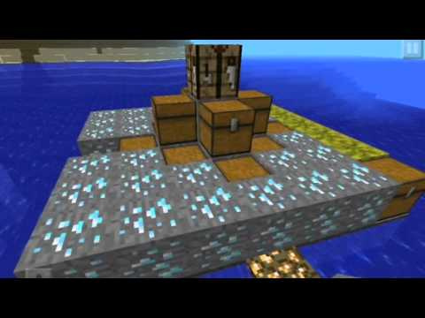 Minecraft pe tutorial:How to make a hunger game
