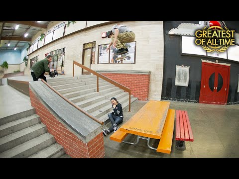 The Longest Backside Flip Ever Done At The Berrics With Chris Joslin