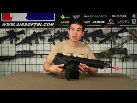 Airsoft GI - VFC Full Metal Scar-H MK17 Gun Review