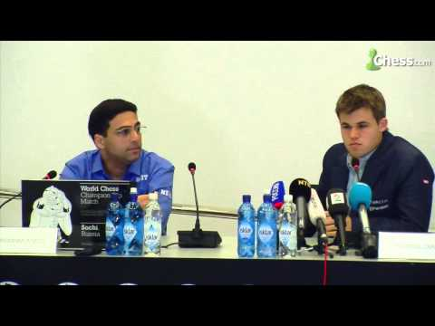 Magnus Carlsen vs Vishy Anand 2014: Game 3