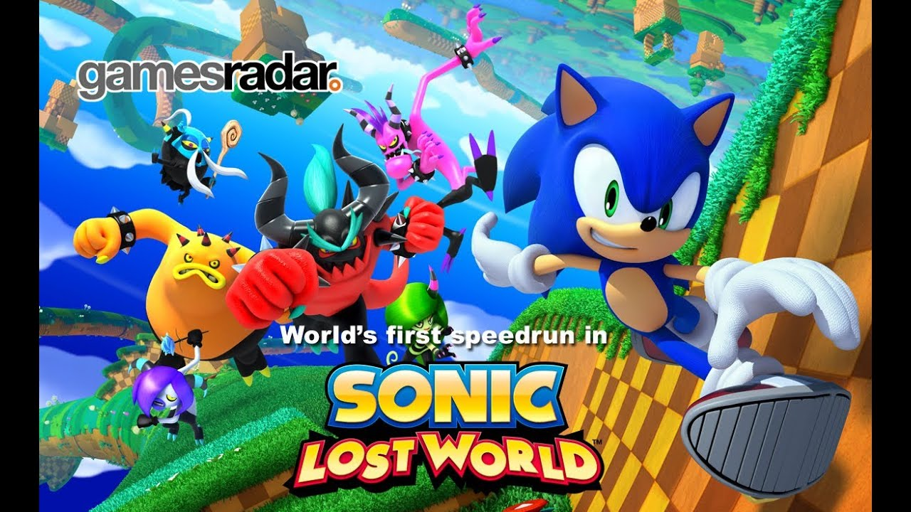 Sonic Lost World: S-Grade speedrun on Windy Hill 1 - YouTube