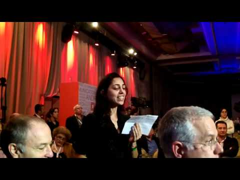 Occupy Israel   mic check   Israel Business Conference   ועידת ישראל לעסקים