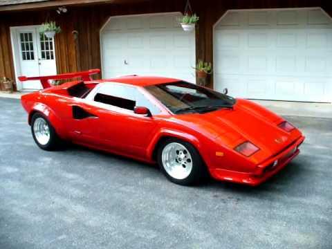 Prova Lamborghini Countach Clone Youtube