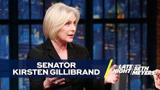Download Senator Kirsten Gillibrand Says Women's March Was Most Inspiring Moment of Her Life 3Gp Mp4