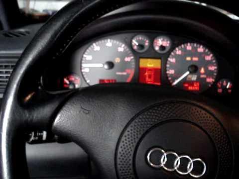 Audi S4 steering position sensor problem. - YouTube