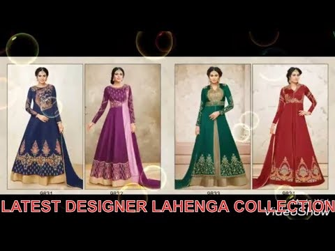 TOP LATEST PAKISTANI WEDDING LEHENGA DESIGNS FASHION 2018-19