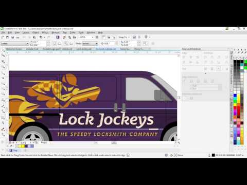 Designing Vehicle Graphics and Wraps in CorelDRAW®