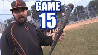 SWINGING A BURNT  BAT!   On-Season Softball League   Game 15
