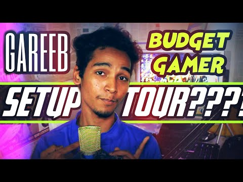 budget gaming setup tour | #gareebo ka setup tour ??? cheap setup tour ? setup tour  1.0
