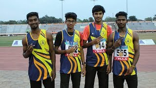 4x100m Relay Final - Federation Cup National Athletics Championships 2018