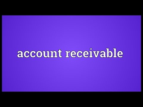 Header of account receivable