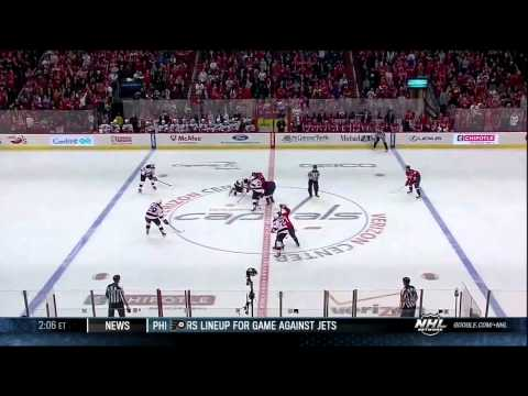 Eric Fehr SHG 3-1 Feb 23 2013 NJ Devils vs Washington Capitals NHL Hockey goal