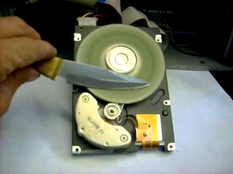 Наждак из жесткого диска